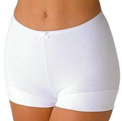 afbeelding Avet 38842 dames short elastische katoen.-L-Wit