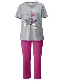 afbeelding Pyjama pink/grijs gemêleerd