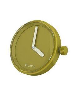 afbeelding O clock klokje olijfgroen