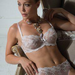 afbeelding Balconette BH·AMBRA Platinum Fashion·mauve/ivoor