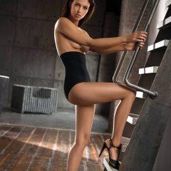 afbeelding High-waist-shaper-Light-Zwart