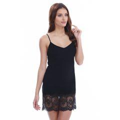 afbeelding Wacoal Chrystalle Nachthemd WE119009 Zwart